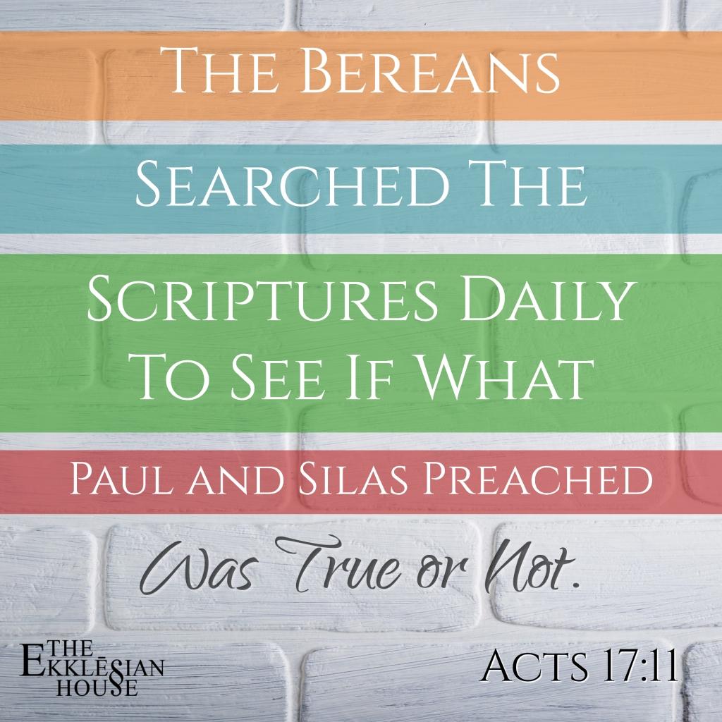 The Berean Manifesto
