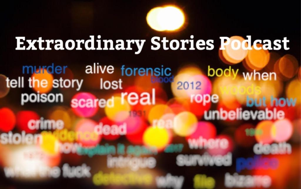 Extraordinary Stories Podcast ESP1 Homemade Sin.