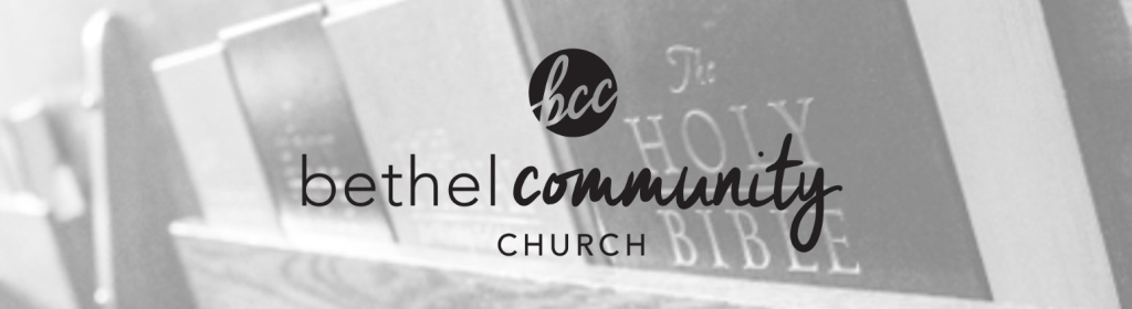 Back In Five - Bethel Community Church