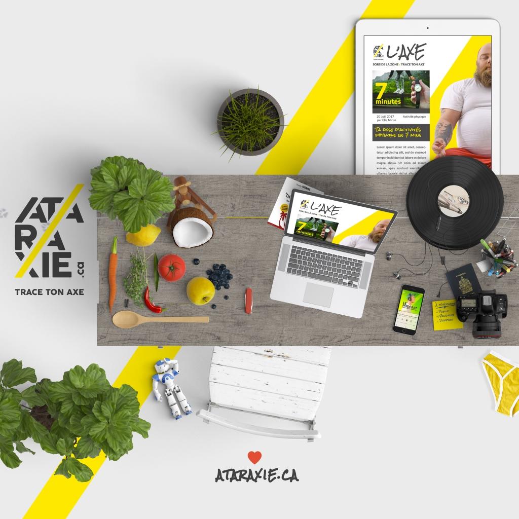 Ataraxie - Trace ton axe en balado