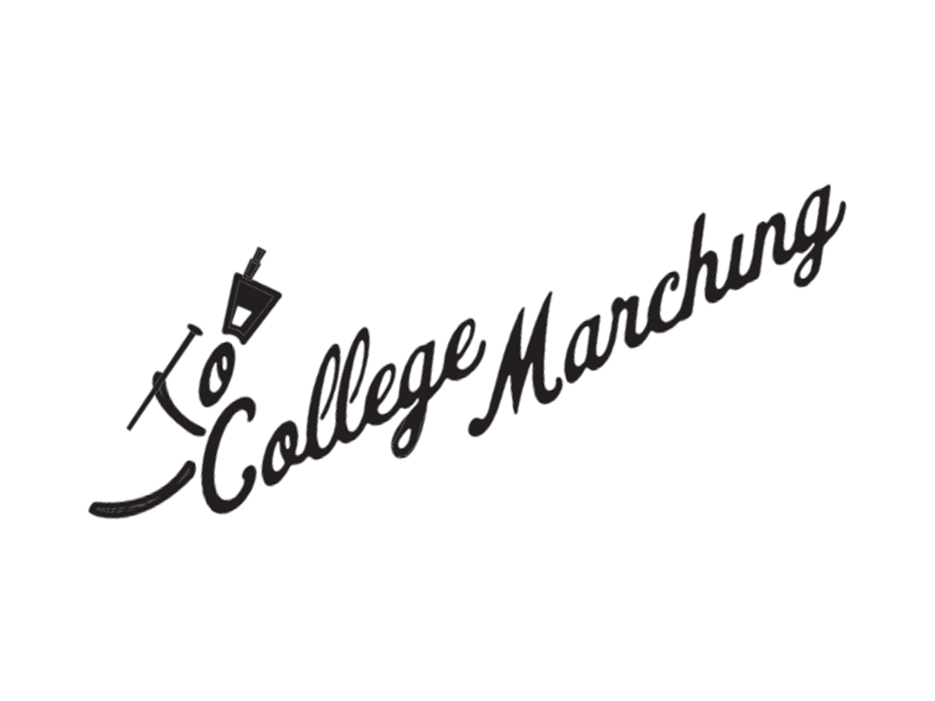 "CollegeMarching.com presents ""Across the 50"" sponsored by Peacocks Marching World"