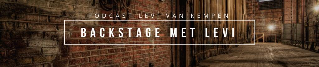Backstage met Levi
