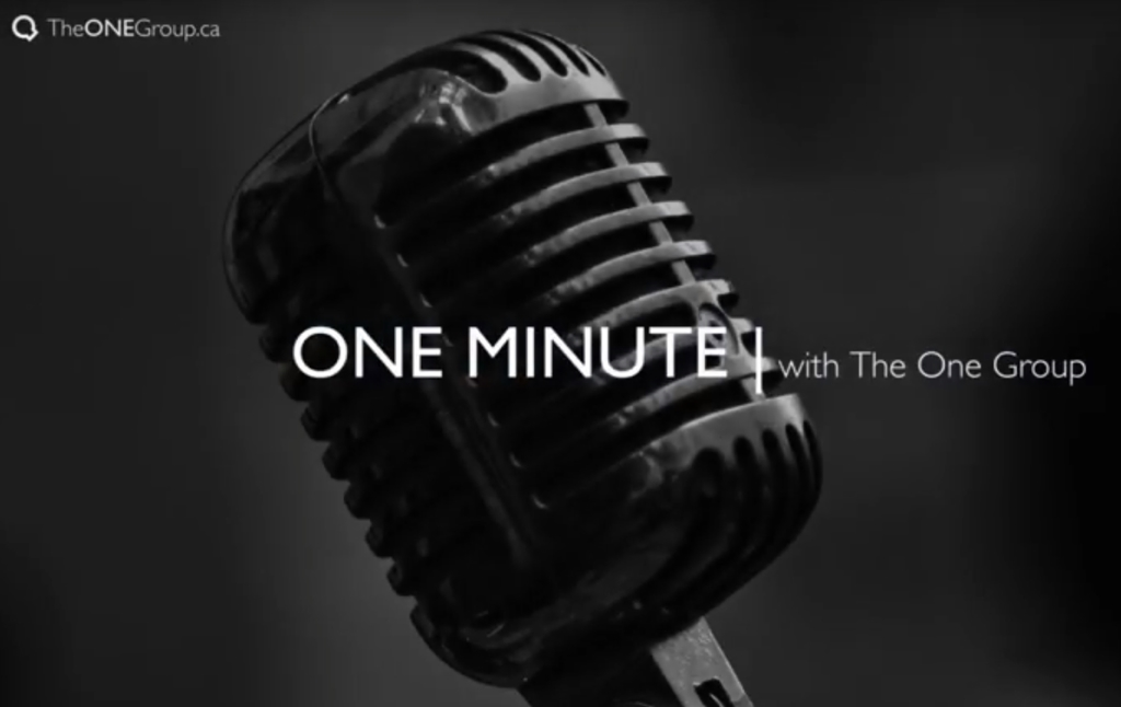 One Minute With The One Group