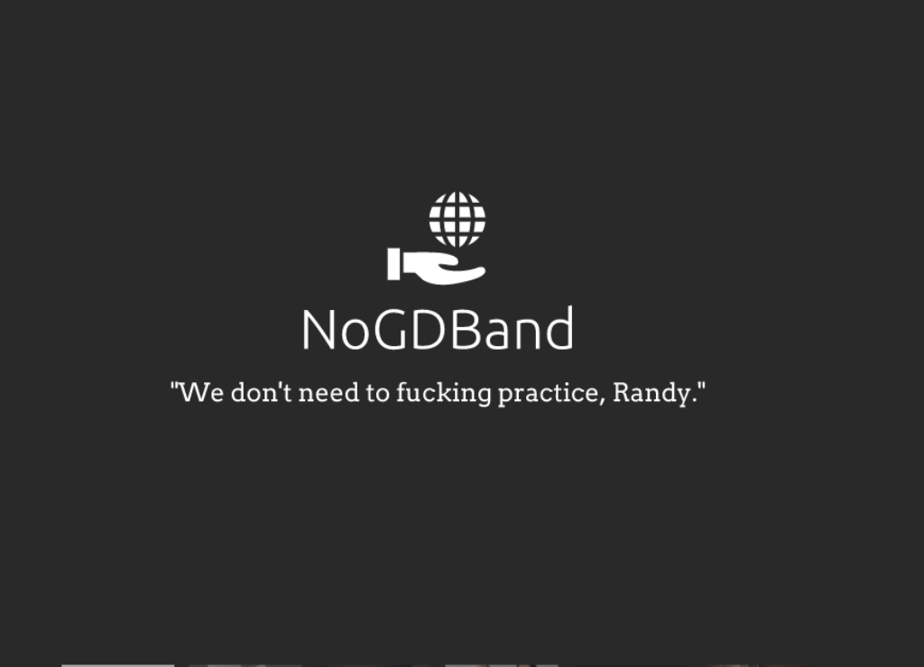 NoGDBand Podcast