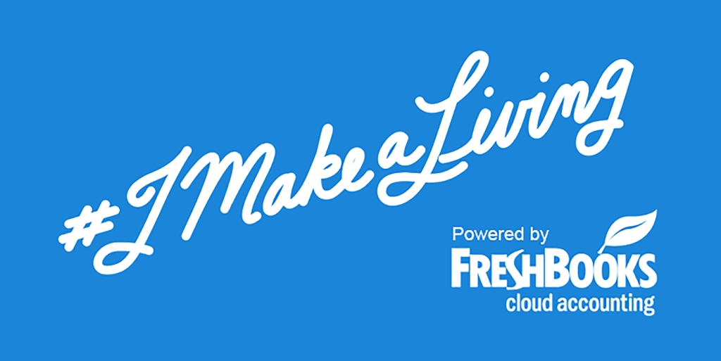 The #iMakeAliving Podcast powered by FreshBooks