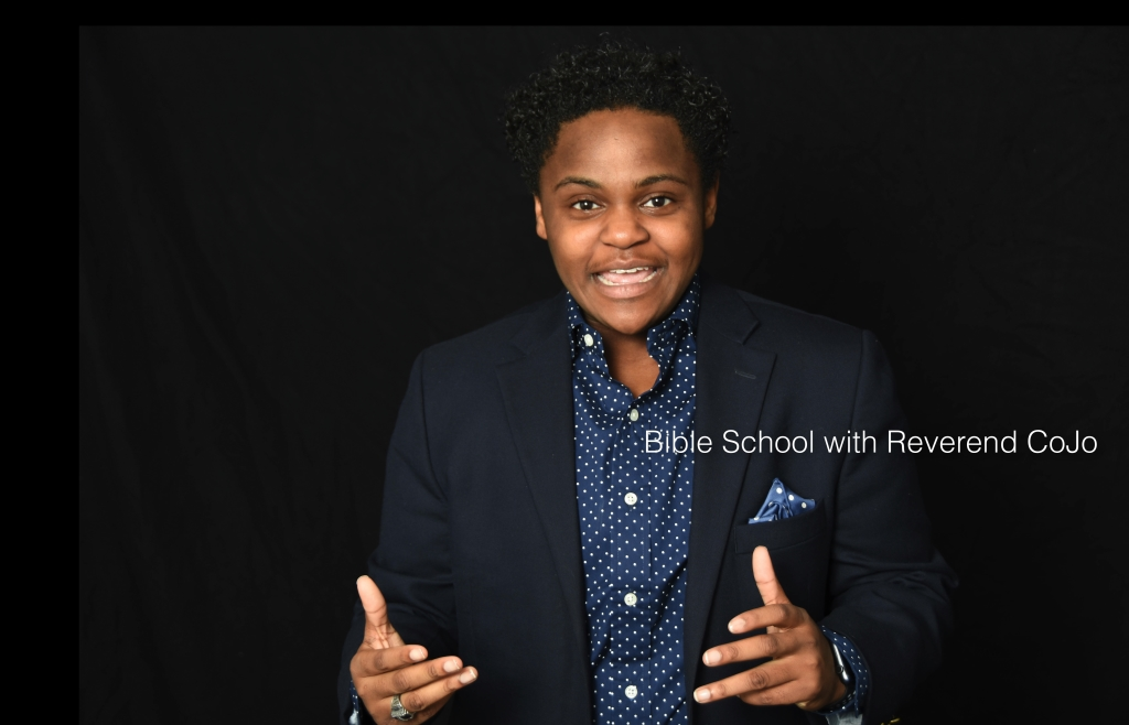 Bible School with Reverend CoJo