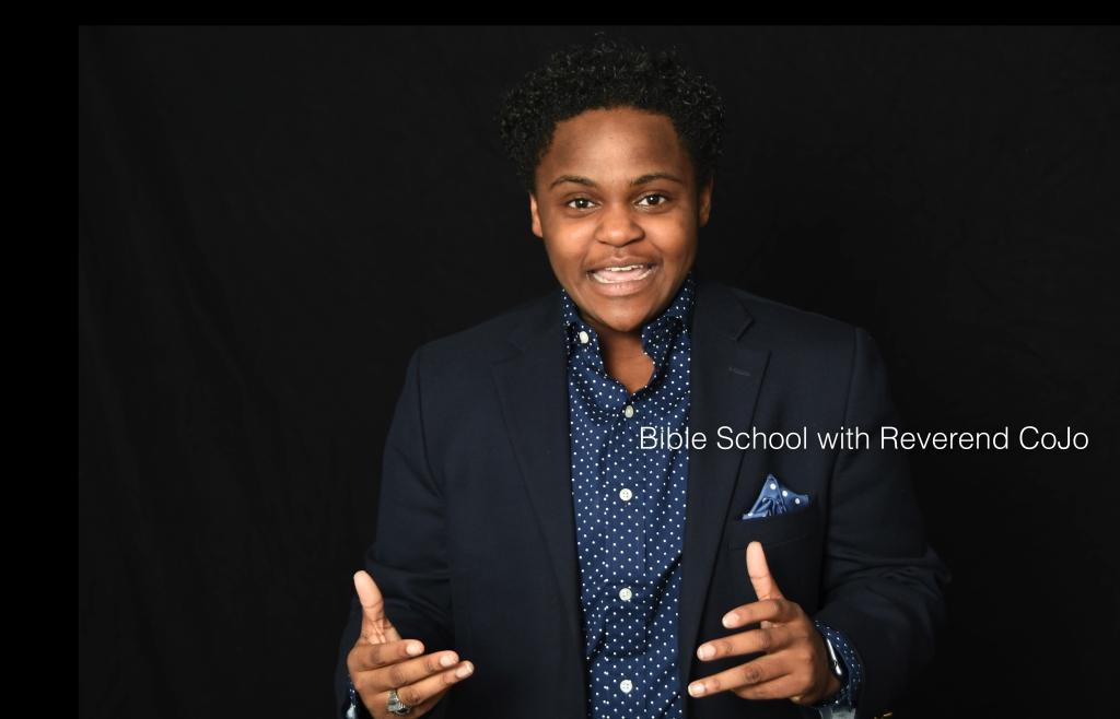 Bible School with Reverend CoJo