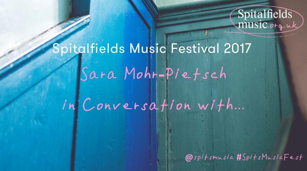 Sara Mohr-Pietsch in Conversation...