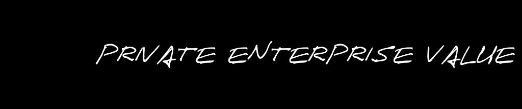 Private Enterprise Value