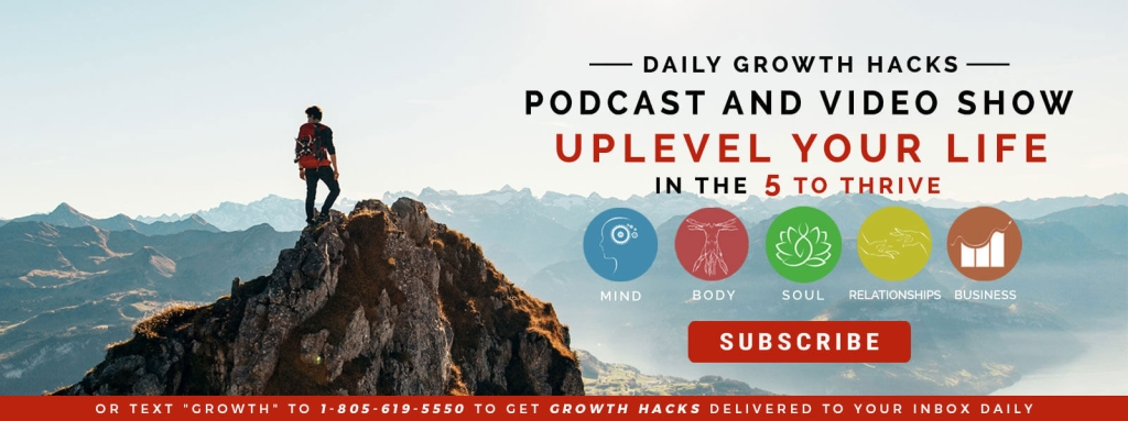 Author Of Your Own Story Daily Growth Hacks