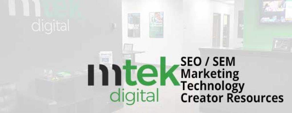 Mtek Digital Podcast