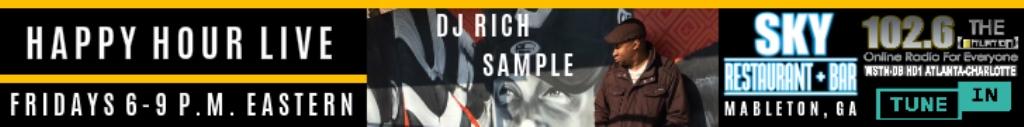 Happy Hour Live w/ DJ Rich Sample