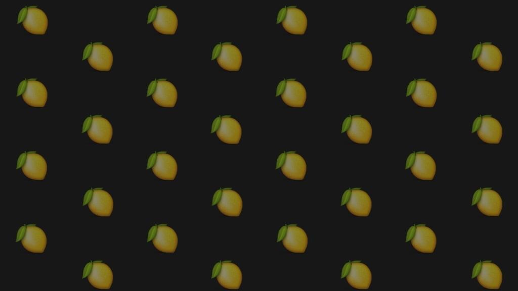 Splitting Lemons