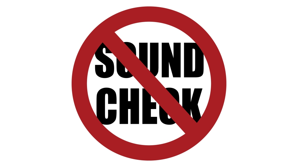 No Sound Check