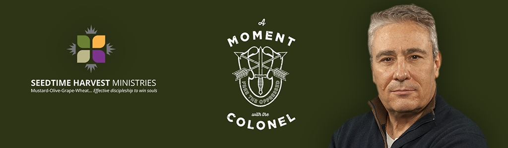 A Moment with the Colonel