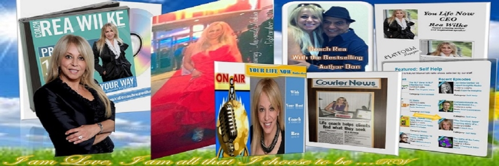 YOUR LIFE NOW show with Coach Rea Wilke