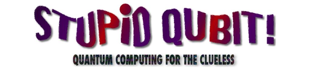 Stupid Qubit - Quantum Computing for the Clueless