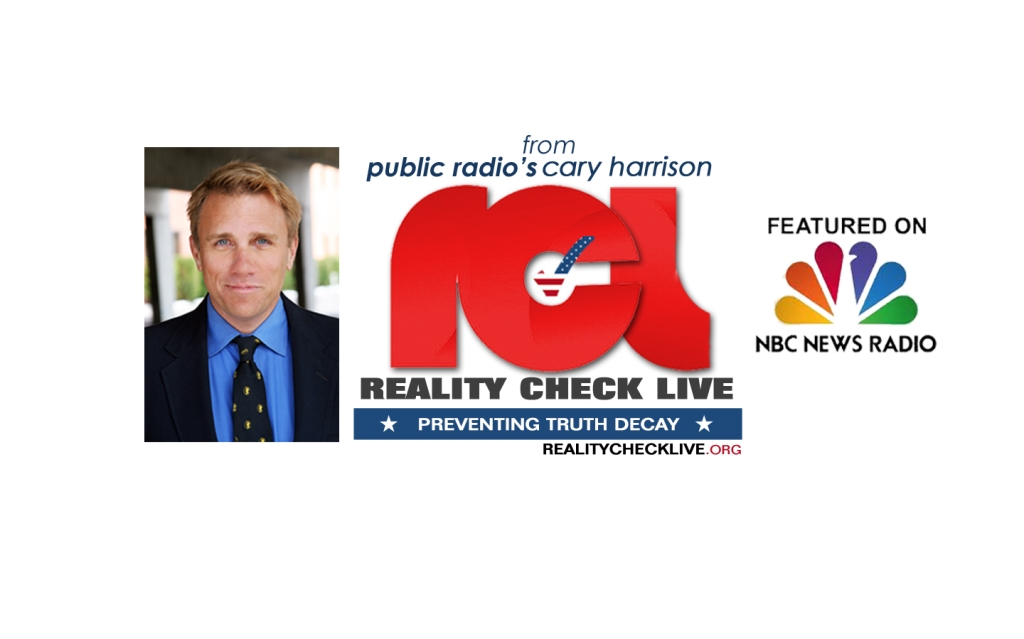 Reality Check Live with Cary Harrison