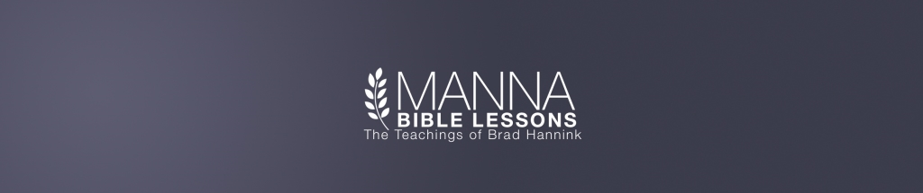 Manna Bible Lessons