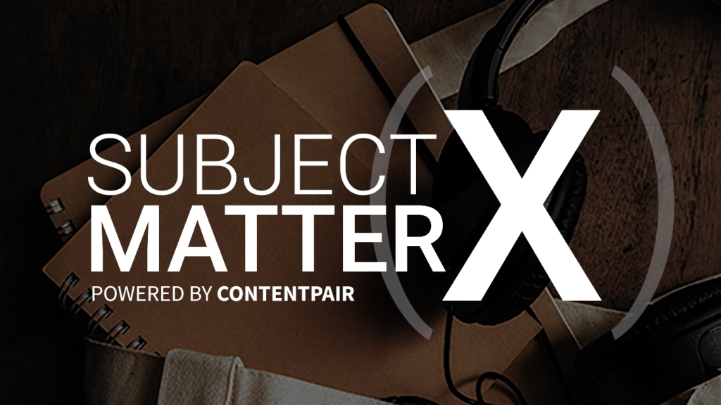 Subject Matter X