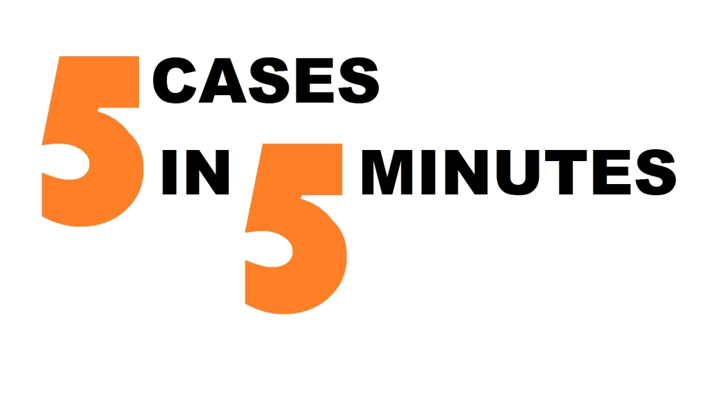 FindLaw's 5 Cases in 5 Minutes