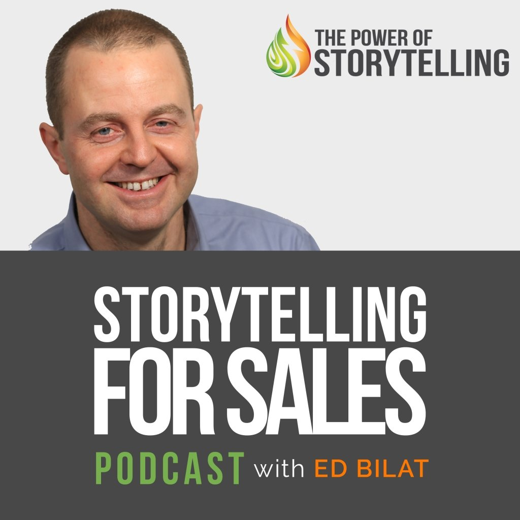 Storytelling for Sales podcast