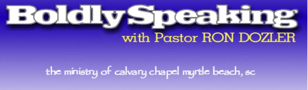 Boldly Speaking
