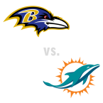 Baltimore Ravens at Miami Dolphins