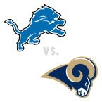 Detroit Lions at St. Louis Rams