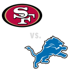San Francisco 49ers at Detroit Lions