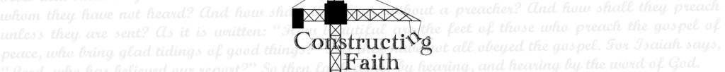 Constructing Faith