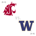 CFB: Washington St. Cougars at Washington Huskies