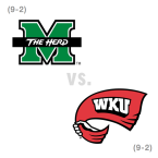 CFB: Marshall Thundering Herd at Western Kentucky Hilltoppers