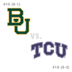CFB: Baylor Bears at TCU Horned Frogs