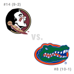 CFB: Florida St. Seminoles at Florida Gators