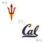 CFB: Arizona St. Sun Devils at California Golden Bears