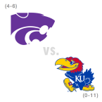 CFB: Kansas St. Wildcats at Kansas Jayhawks