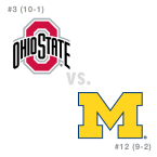 CFB: Ohio St. Buckeyes at Michigan Wolverines