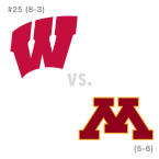 CFB: Wisconsin Badgers at Minnesota Golden Gophers