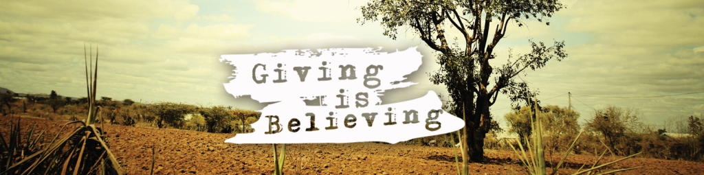 Giving is Believing
