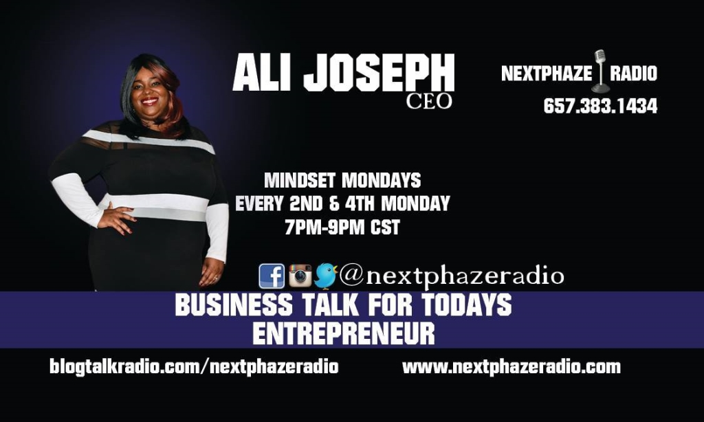 Mindset Mondays on NextPhaze Radio