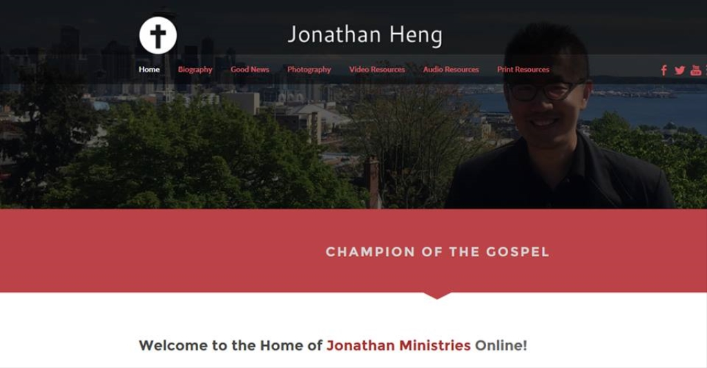 Champion of the Gospel with Jonathan Heng