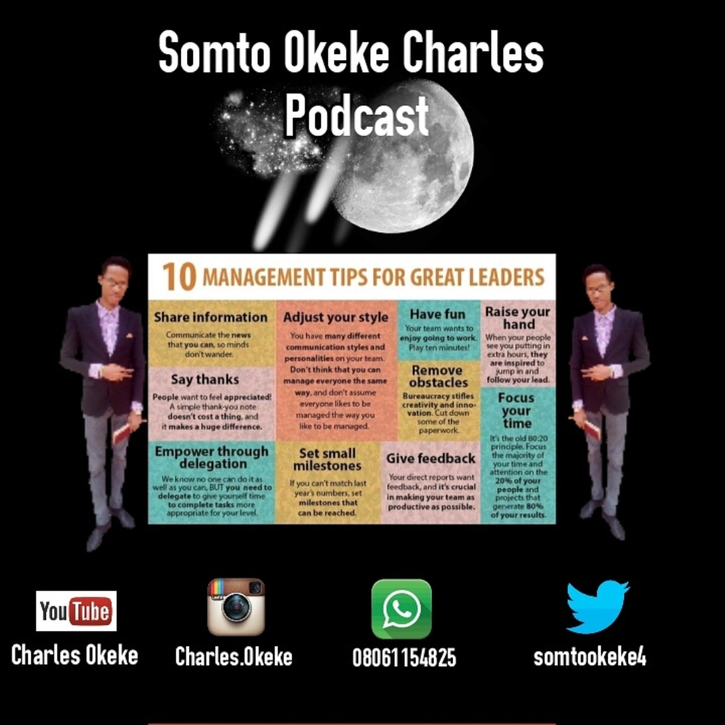 Somto Okeke Charles Podcasts
