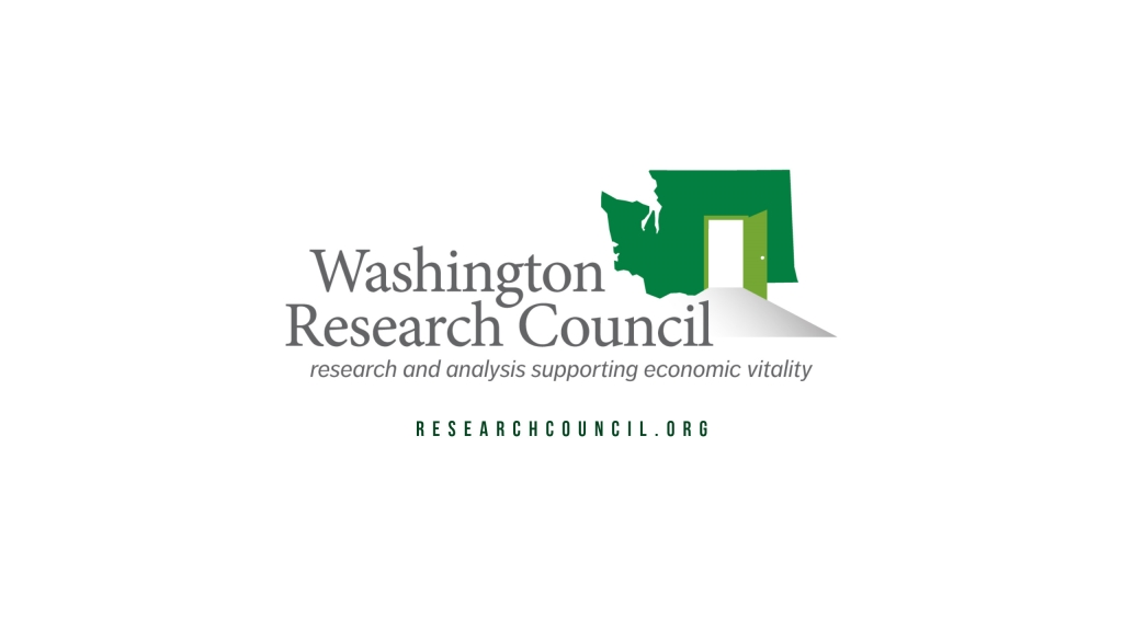 Washington Research Council (4 podcasts: Policy Today, Common Ground, InFocus and 90 Seconds)