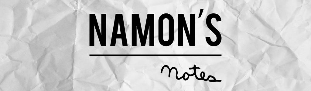 Namon's Notes
