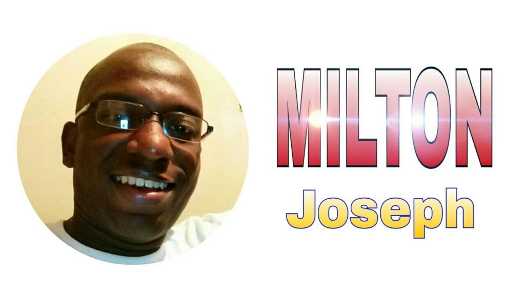 Milton Joseph talk