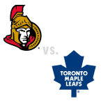 Ottawa Senators at Toronto Maple Leafs