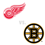Detroit Red Wings at Boston Bruins