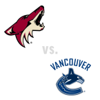 Arizona Coyotes at Vancouver Canucks