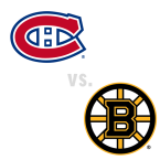 Montreal Canadiens at Boston Bruins